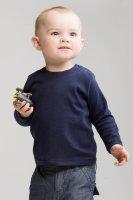 Top niemowlęcy z długim rękawem