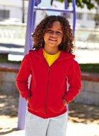 Dziecięca bluza z kapturem na zamek