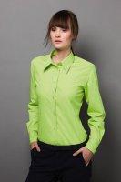 Damska koszula pracownicza z długim rękawem
