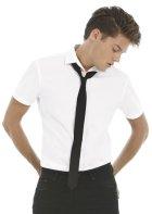 Koszula Black Tie Elastane z krótkimi rękawami