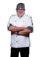 Modna kurtka szefa kuchni Rock Chef